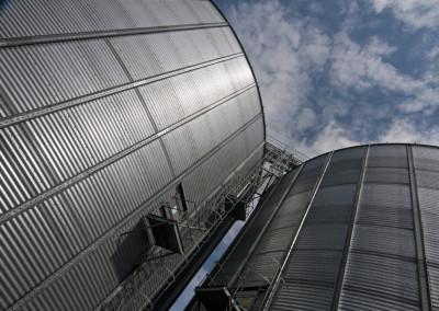 hampshire grain silos