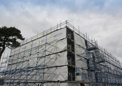 scaffolding by profix at school