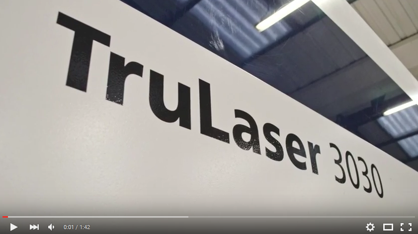 trulaser 3030 machine