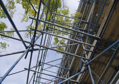 southampton university and scaffolding