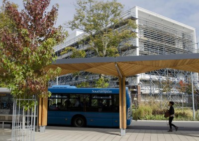 southampton university and scaffolding