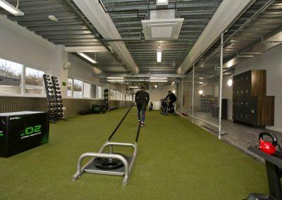 sports centre equipment internal