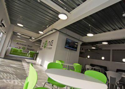 cafe gym fitness sports centre