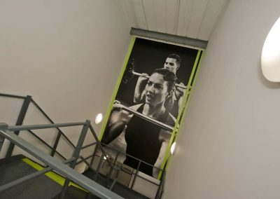 stairway gym fitness sports centre