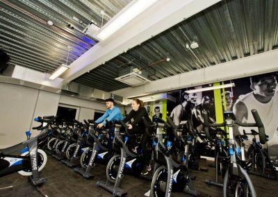 fitness bikes sports centre