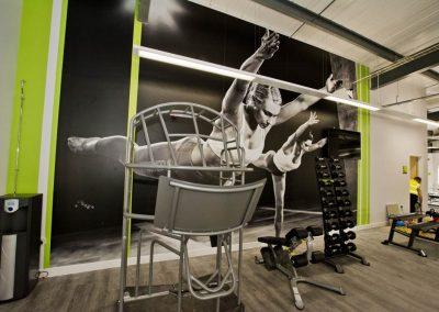 sports centre gymn equipment