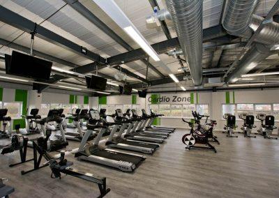 sports centre gymn internal building